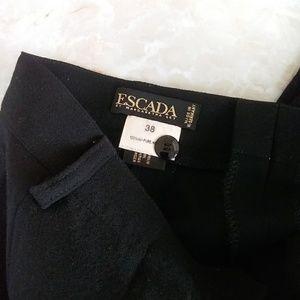 Escada wool  black  pants  sz.S